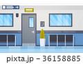 病院 ベクトル インテリアのイラスト 36158885