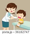 男の子 男児 医師のイラスト 36162747