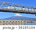 富士山 新幹線 乗り物の写真 36165104