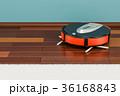 掃除機 電機掃除機 ロボットのイラスト 36168843