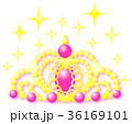 ティアラ ピンク ゴールド キラキラ 36169101