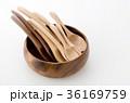 木のスプーンいろいろと木の器 36169759