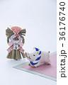 亥 猪 正月飾りの写真 36176740