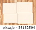 木目 テクスチャー フレーム 36182594