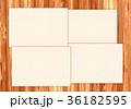 木目 テクスチャー フレーム 36182595