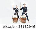 インバウンドツーリスト 文化体験 和太鼓  36182946