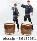 インバウンドツーリスト 文化体験 和太鼓  36182951