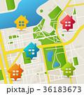 ベクター 概念 地図のイラスト 36183673