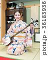 インバウンドツーリスト 文化体験 三味線  36183936
