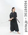 居合道 女性 デモンストレーションの写真 36184094