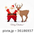 ベクトル クリスマス xマスのイラスト 36186937