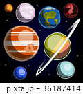 Set with Solar System planets 36187414