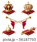 クラウン 冠 王冠のイラスト 36187703