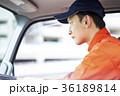 男性 トラック 運転の写真 36189814