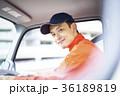 男性 トラック 運転の写真 36189819