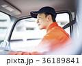 男性 トラック 運転の写真 36189841