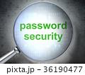 セキュリティ セキュリティー 安全のイラスト 36190477