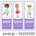女の子 女子 少女のイラスト 36200382
