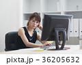 女性 若い ビジネスウーマンの写真 36205632