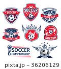 サッカー アイコン イコンのイラスト 36206129