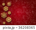 抽象的 クリスマス デザインのイラスト 36208365
