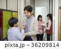 教師 先生 廊下の写真 36209814