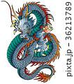 龍 竜 ベクターのイラスト 36213789