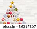 クリスマス オーナメント 飾りの写真 36217807
