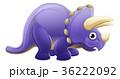 恐竜 トリケラトプス ベクトルのイラスト 36222092