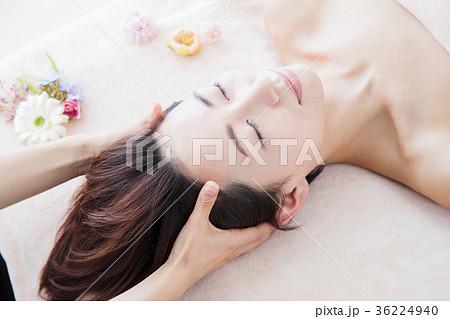 エステ 女性 ヘッドスパ ビューティー 美容 エステサロン 36224940