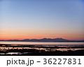 夕焼け 野付半島 北海道の写真 36227831