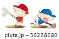 野球 子供 少年のイラスト 36228680