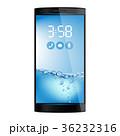 スマートフォン 待受け画面 ホーム画面のイラスト 36232316