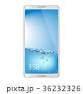 スマートフォン 待受け画面 ホーム画面のイラスト 36232326