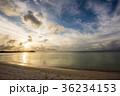 グアム タモンビーチの夕景 36234153