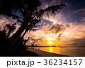 グアム タモンビーチの夕景 36234157