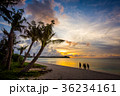 グアム タモンビーチの夕景 36234161
