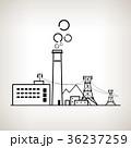 産業 工業 汚染のイラスト 36237259