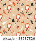 贈り物 サンタ サンタクロースのイラスト 36237529