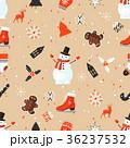 ベクター クリスマス パターンのイラスト 36237532