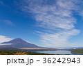富士山 風景 山中湖の写真 36242943