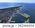 東京湾 空撮 漁港の写真 36244454