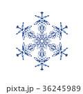 雪の結晶 結晶 雪のイラスト 36245989