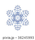 雪の結晶 結晶 雪のイラスト 36245993
