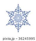 雪の結晶 結晶 雪のイラスト 36245995