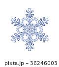 雪の結晶 結晶 雪のイラスト 36246003