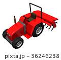 赤いトラクター 36246238