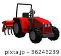赤いトラクター 36246239