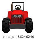 赤いトラクター 36246240