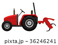 赤いトラクター 36246241